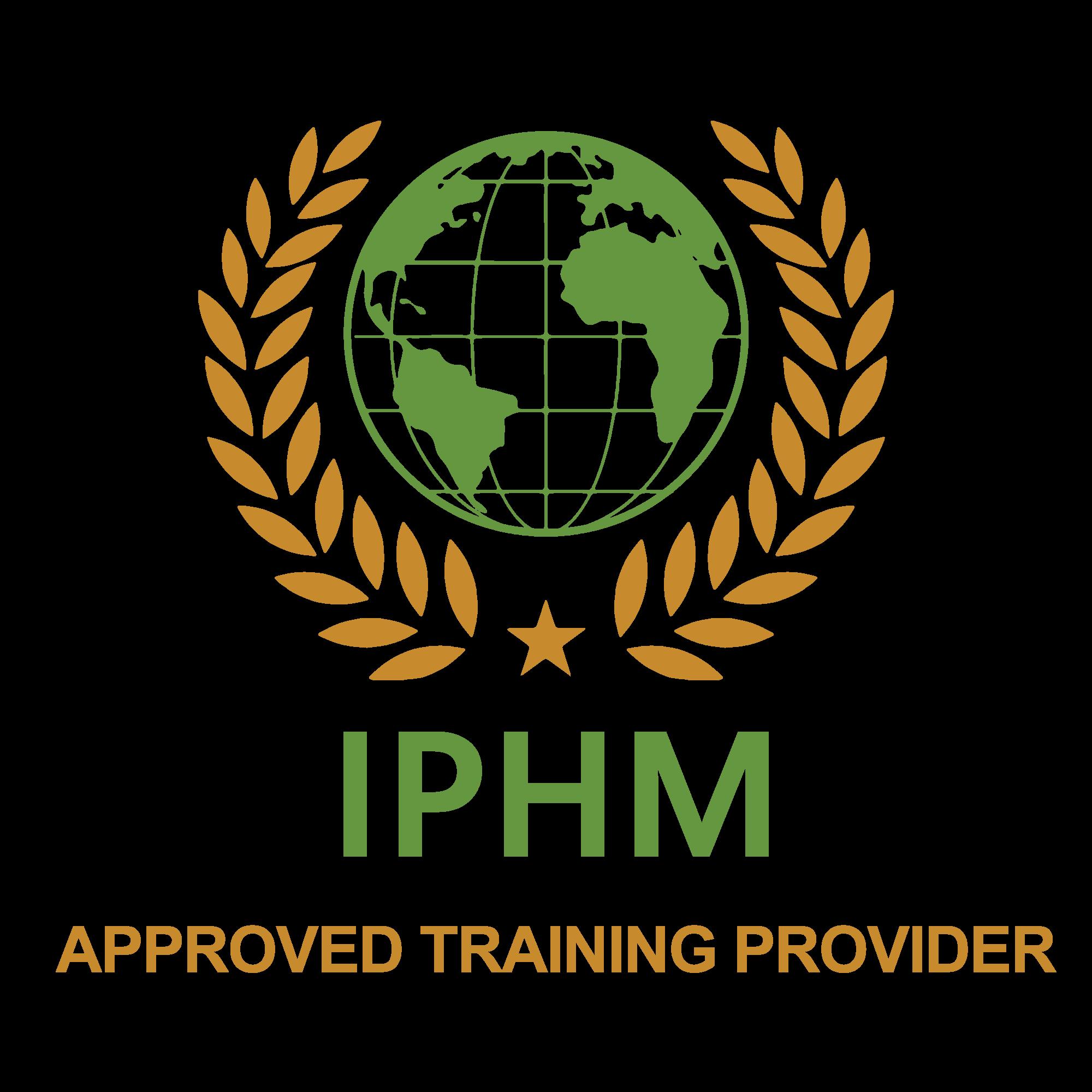 iphmlogo approved trainingprovider tr